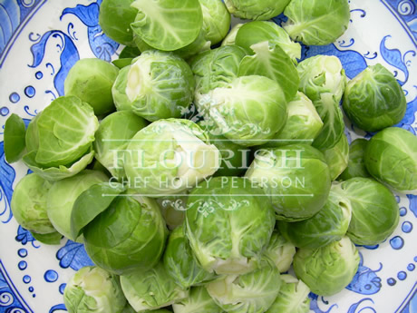 Brussels Sprouts Platter