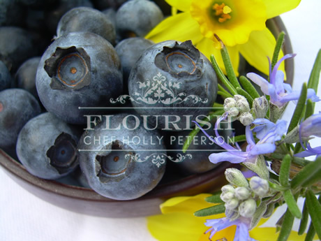 Rosemary and Blueberries